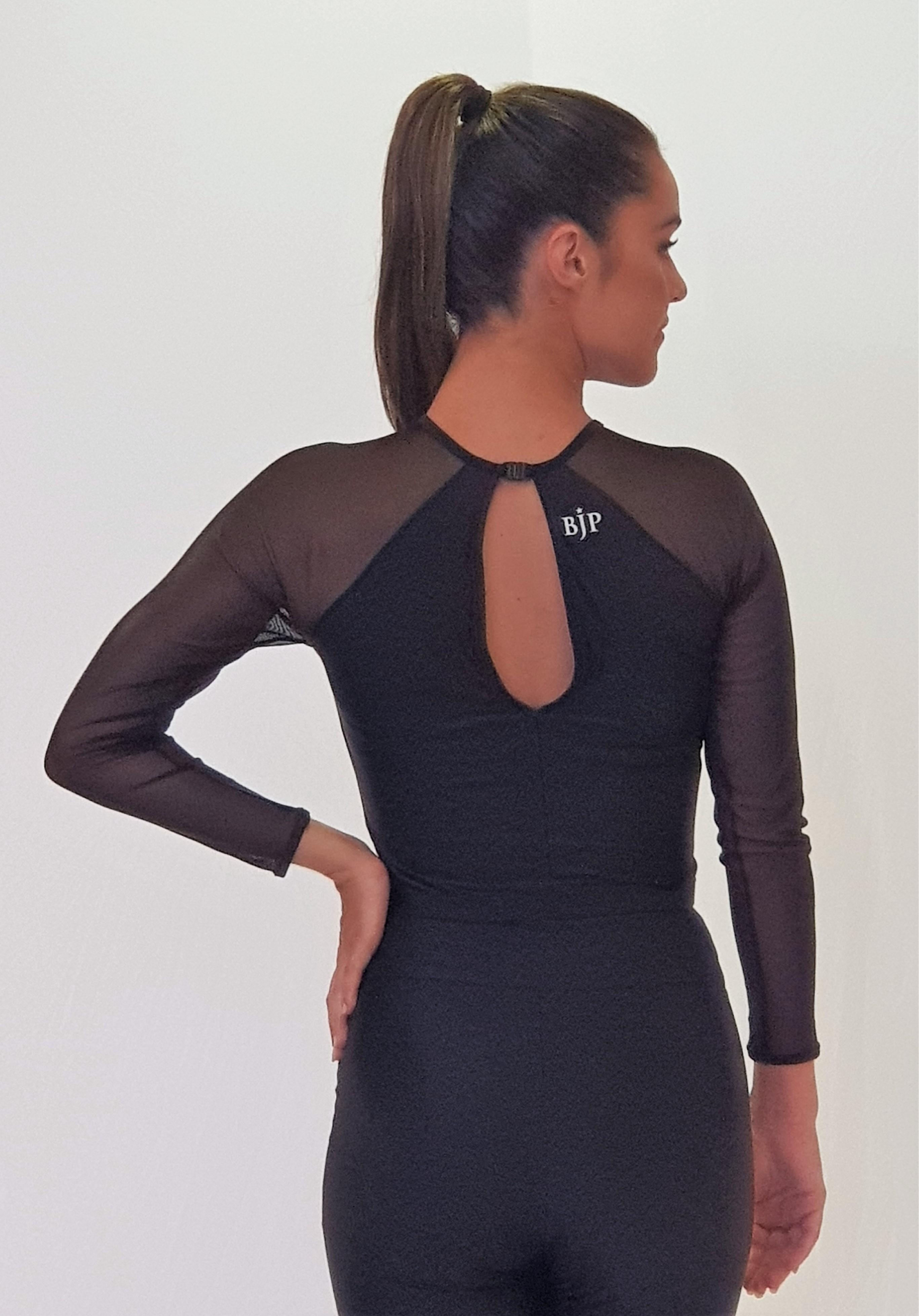 Danse Foile Mesh Sleeve with Lining MTO